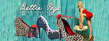 Bettie Page Designer Women Footwear Both Afforable And Sexy In Pinup Style
