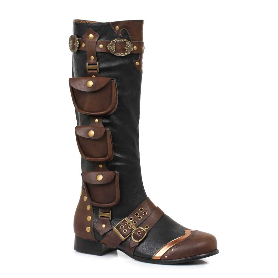 "1""Heel Knee High Boots(Mens Sizes)"
