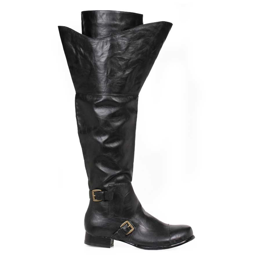 "1"" Black Mens Boot (Men's Sizes)"