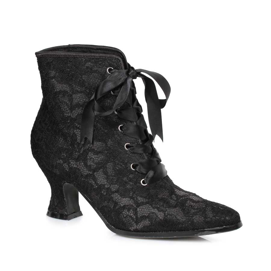 "2.5"" Heel Boot with Lace."