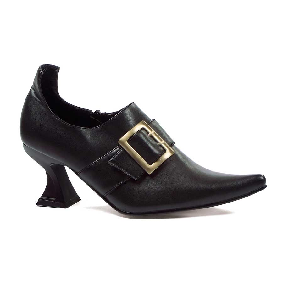 "3"" Heel Witch Shoe with Buckle."