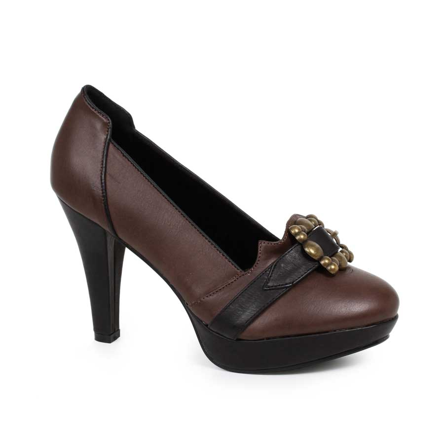 "4"" Womens Pump with Buckle"