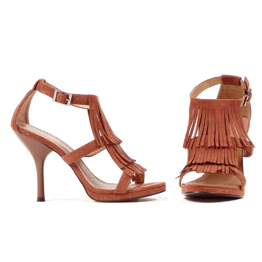 "Brown 417-SIOUX 4."" Sandal"