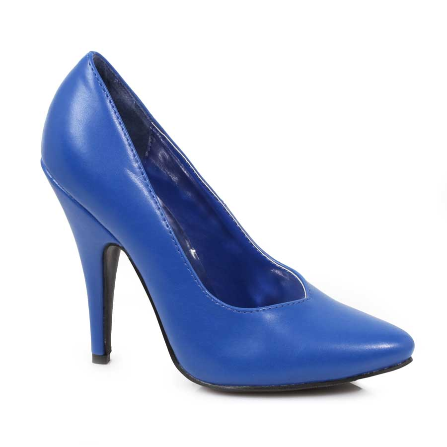 "ES:8220"" Blue 5"" Heel Pumps."