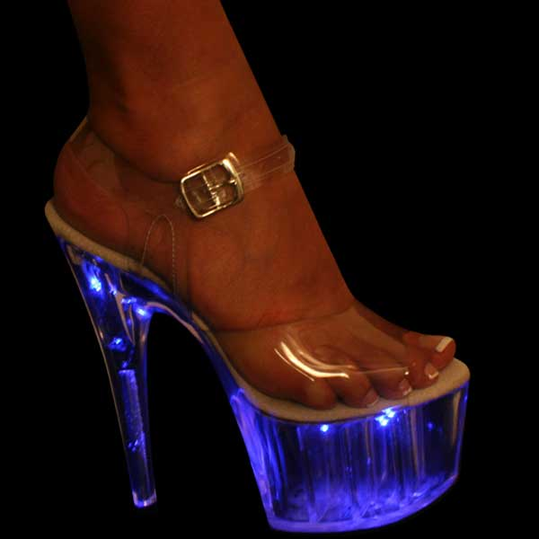 7 inch Platform With Blue Lights