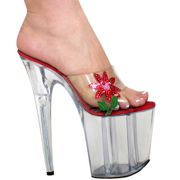 8 inch high heel Flower of Spring Sandal