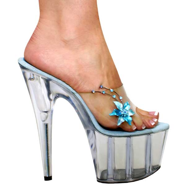 7 inch Sexy Sandal with Rhinestones