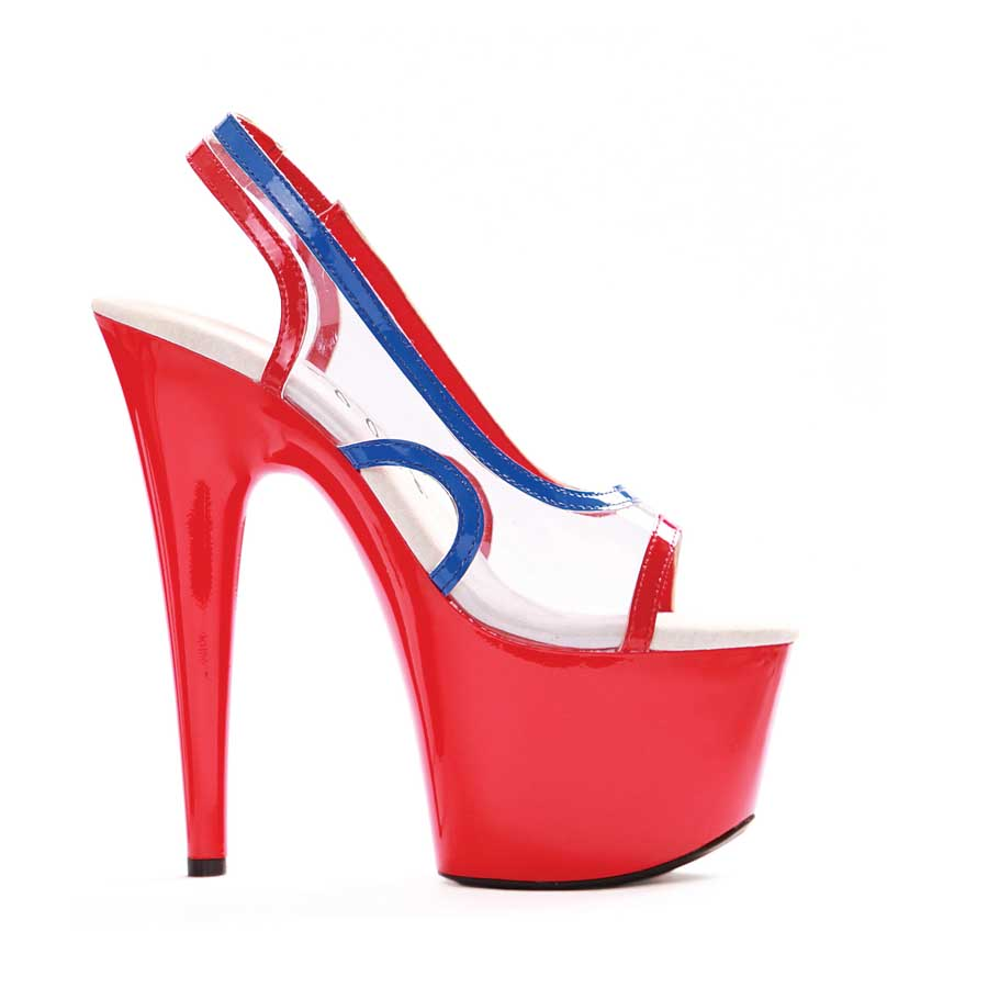 "ES:709-LEONA Multi-Color 7"" Pointed Stiletto Sandal"