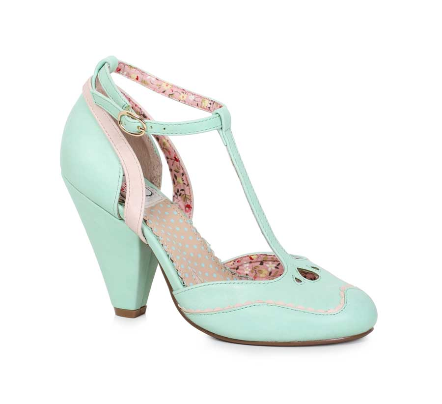 "ES:BP403-ANNALISE Mint 4"" closed toed heel"