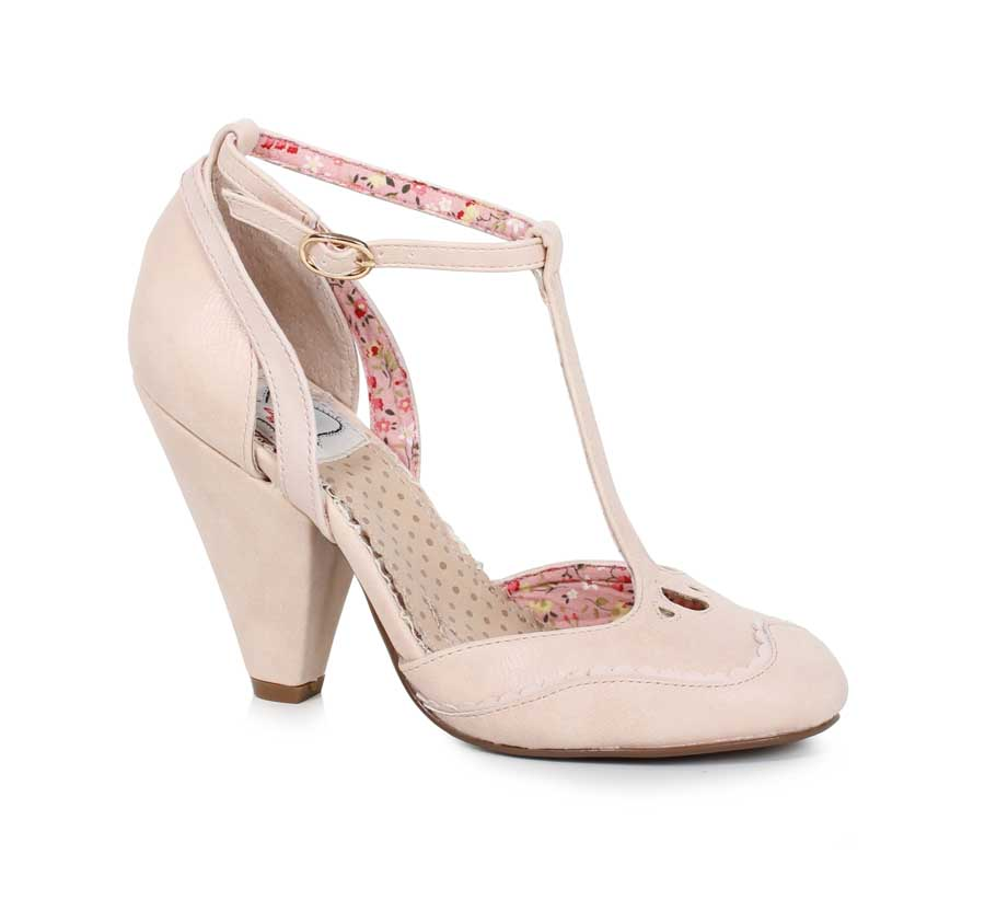 "ES:BP403-ANNALISE Nude 4"" closed toed heel"